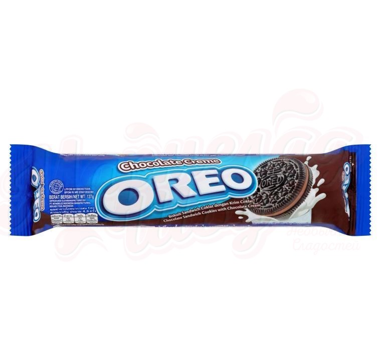 Печенье Oreo Chocolate Cream 137 гр.