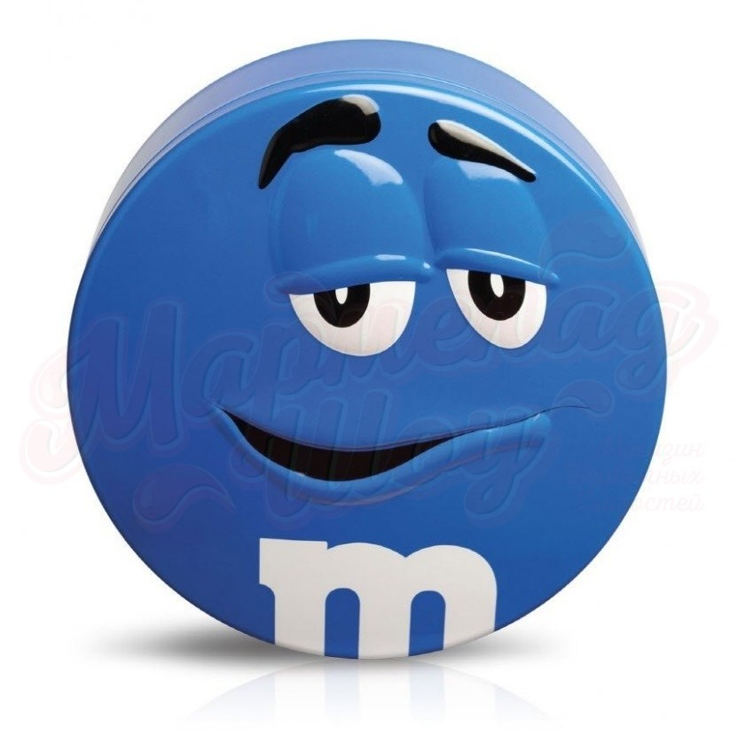 M&M's Candy Tin синий 200 гр.