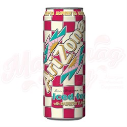 Холодный чай Arizona Iced tea with raspberry Малина, 0.340 л - фото 4547