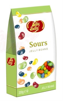 Конфеты Jelly Belly Кислые фрукты 200 гр. - фото 4677
