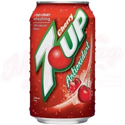 7UP Cherry USA 0,355л - фото 5281