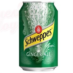 Schweppes Ginger Ale USA 0,355л - фото 5282