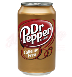 Dr. Pepper Caffeine Free USA 0,355л - фото 5839
