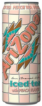 Напиток Arizona Peach Tea 0.680 л - фото 5848