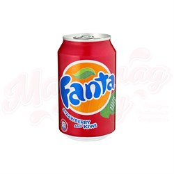 Fanta Strawberry & Kiwi (Клубника и Киви) 0,330л - фото 5986