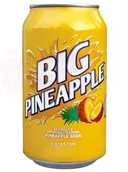 Big Pineapple Soda 0,355л - фото 6096
