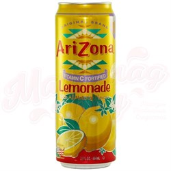 Напиток Arizona Lemonade 0.680 л - фото 6137