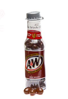 Конфеты Jelly Belly Soda Pop Shoppe Bottles A&W Root Beer 43 гр. - фото 6213