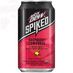 Mountain Dew Spiked Raspberry Lemonade 0,355л - фото 6595