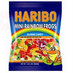 Мармелад Haribo Rainbow Frogs лягушки 142 гр. - фото 7023