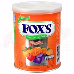 Леденцы Fox's Crystal Clear Fruit Nestle 180 гр. - фото 7338