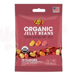 Конфеты Jelly Belly Organic 10 вкусов 53 гр. - фото 7468