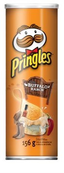 Чипсы Pringles Buffalo Ranch 158 гр. - фото 7478