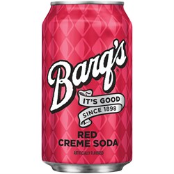 Barg's  Red Cream Soda USA 0,355л - фото 7555