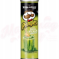 Чипсы Pringles Screamin' Dill Pickle 158 гр. - фото 7588