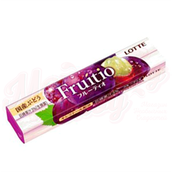 Жвачка Lotte Fruitio Japanese grape - фото 7592