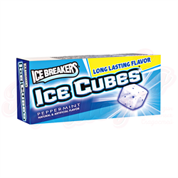 Жвачка Ice Breakers Ice Cubes Peppermint 23 гр. - фото 7593