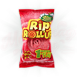 Жвачка Lutti Roll Up Rip Strawberry 40 гр. - фото 7668
