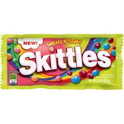 Skittles Sweet Sours 56,7 гр. - фото 8009