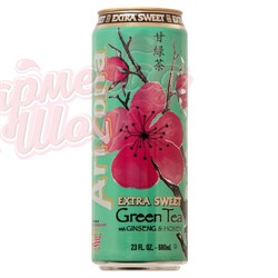 Напиток Arizona Extra Sweet Green Tea 0.680 л - фото 8119
