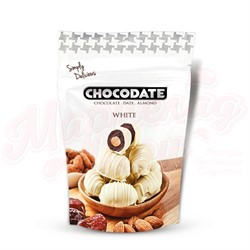Финики в шоколаде Exclusive Pouch Milk White Chocodate 100 гр. - фото 8169