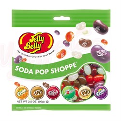 Конфеты Jelly Belly Soda Pop Shoppe Bottles 99 гр. - фото 8587