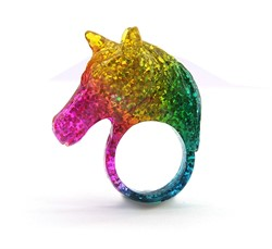 Кольцо «Rainbow unicorn»