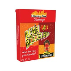 Конфеты Jelly Belly ассорти Bean Boozled Flaming Five (острые) 45 гр.