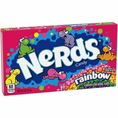 Конфеты Wonka Nerds Rainbow Theater Box 141,7 гр.