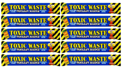 Кислая конфета Toxic Waste Nuclear Sludge Bar (малина) 10 шт по 20г