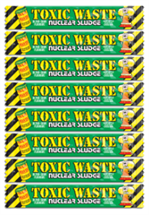 Кислая конфета Toxic Waste Nuclear Sludge Bar (яблоко) 8 шт по 20г