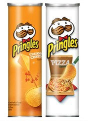 Чипсы Pringles Cheddar Cheese + Pizza (2 шт. по 158 гр.)