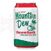 Mountain Dew Throw Back 0,355л