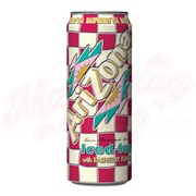 Холодный чай Arizona Iced tea with raspberry Малина, 0.340 л, банка