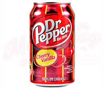 Dr. Pepper Cherry Vanilla (Вишня-Ваниль) USA 0,355л