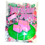 Леденец Big Slice Pops Strawberry Клубника