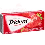 Жвачка Trident Strawberry Twist