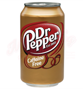 Dr. Pepper Caffeine Free USA 0,355л