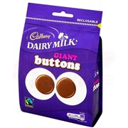 Конфеты Cadbury Dairy Milk Giant Buttons 119 гр.