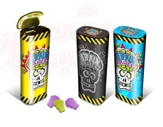 Кислые драже Brain Blasterz Sour Tins в железном пенале 22 гр.