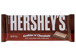 Шоколад Hershey`s Cookies `n` Chocolate 43 гр.