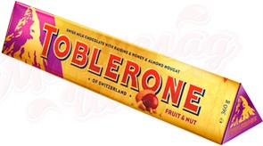 Шоколад Toblerone Fruit & Nut 360 гр.