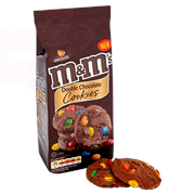 Печенье M&M's Double Chocolate Cookies 180 гр.