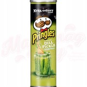 Чипсы Pringles Screamin' Dill Pickle 158 гр.