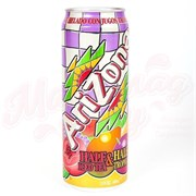 Напиток Arizona Half and Half Tropical Tea 0.680 л