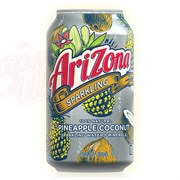 Напиток Arizona Sparkling Pineapple Coconut 0,355л