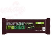 Шоколад Hershey`s Cookie Layer Crunch Mint 39 гр.