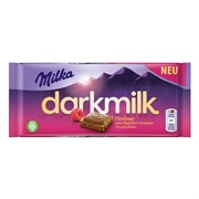 Шоколад Milka Dark Raspberry 85 гр.